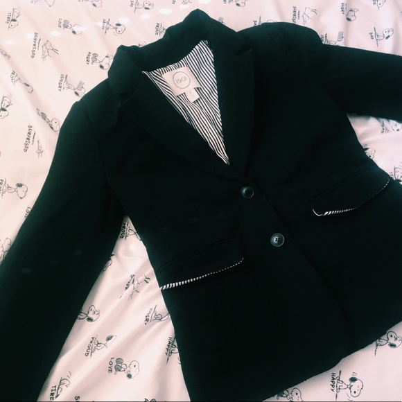 Nordstrom Jackets & Blazers - nordstrom | black stretch cotton twill blazer